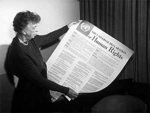 Eleanor Roosevelt e a Declaração dos Direitos Humanos