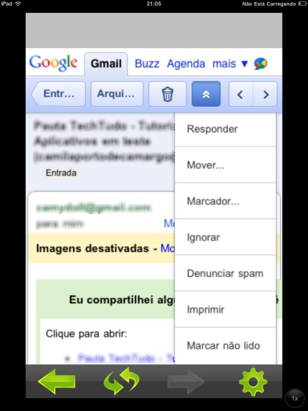 Mail Push for Gmail (Foto: Reprodução/Camila Porto)