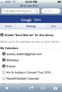 Google Sync. (Foto: Divulgação)
