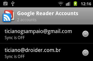 Google Reader. (Foto: Divulgação)