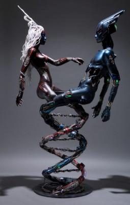 DNA também vira arte (Foto: Divulgação)