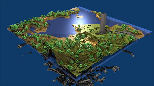 Minecraft pra Xbox LIVE Arcade (Foto: Destructoid)