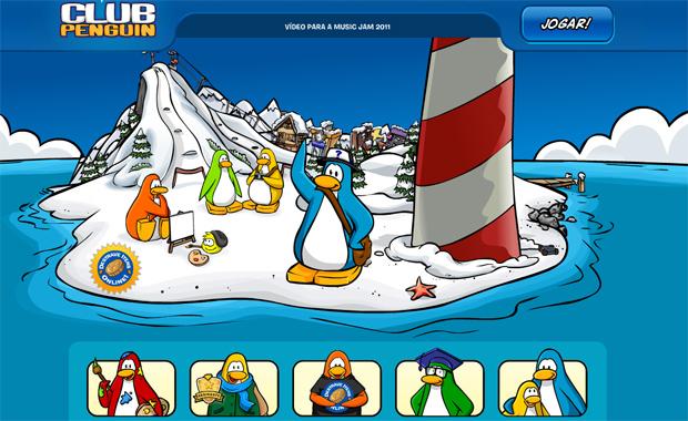 Club Penguin fica offline (Foto: Reprodução)