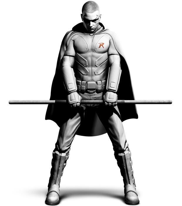 Robin em Batman: Arkham City (Foto: Divulgação)