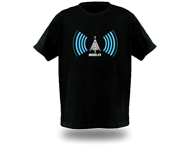 Camiseta WiFi (Foto: TechTudo)