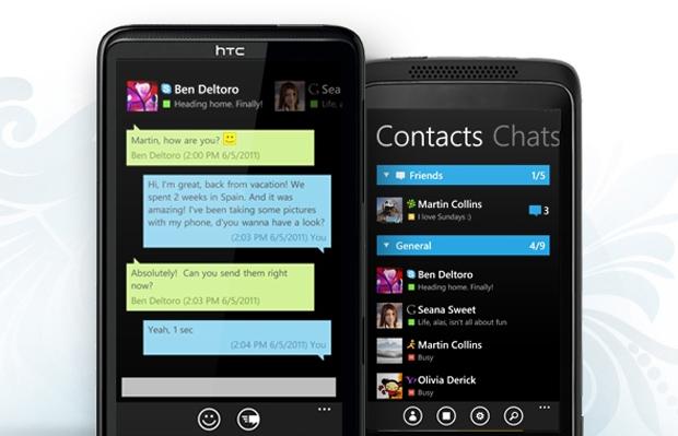 IM+ no Windows Phone 7 (Foto: Divulgação)
