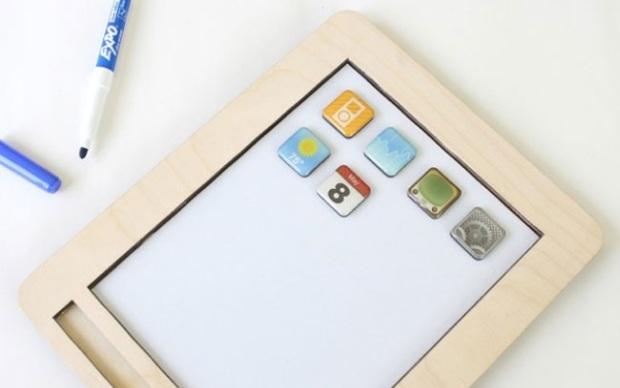 AnaPad, o iPad de madeira (Foto: Divulgação)