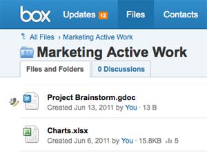 Box.net com Google Docs (Foto: Venture Beat)