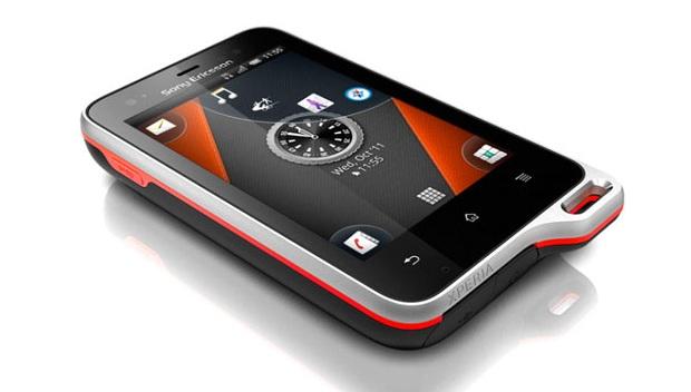 Sony Ericsson Xperia Active (Foto: Divulgação)