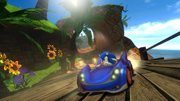Sonic & Sega All Stars Racing (Foto: Divulgação)
