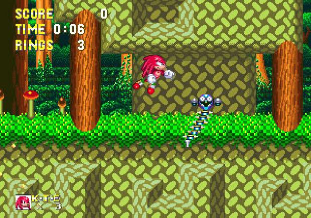 Sonic & Knuckles (Foto: Divulgação)