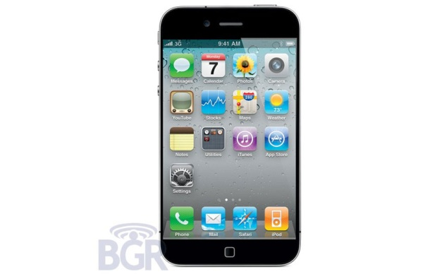 Mockup do suposto iPhone 5 (Foto: BGR)