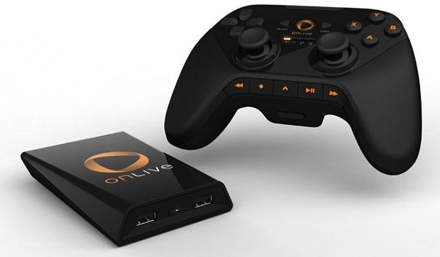 O OnLive Game System com seu controle (Foto: Divulgação)