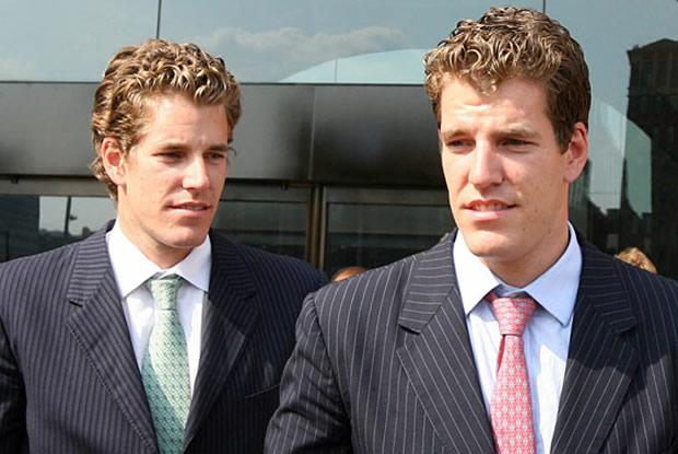 Os gêmeos Winklevoss se dizem criadores da ideia original do Facebook (Foto: Divulgação)