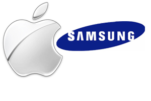 Apple x Samsung (Foto: Arte)
