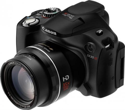 Canon PowerShot SX30 IS (Foto: Divulgação)