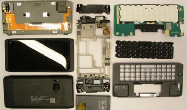 Anatomia de um Nokia N950  (Foto: Divulgação)