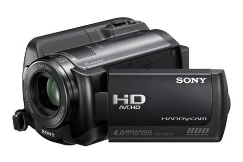 Sony Handycam HDR-XR100 (Foto: Divulgação)
