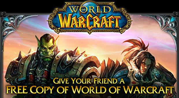 Recrute um amigo para World of Warcraft (Foto: Divulgação)