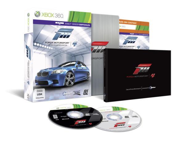 Forza Motorsport 4 edição de colecionador (Foto: Divulgação)