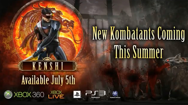 Kenshi chega ao novo Mortal Kombat  (Foto: Reprodução)