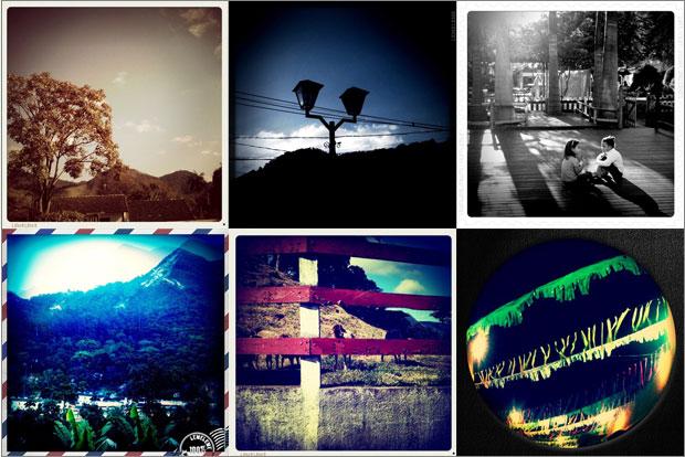 Exemplos de fotos com o Leme Camera (Foto: Reprodução/Luanda Pereira)