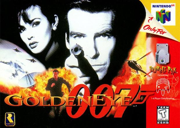 Capa Golden Eye 007 para Nintendo 64 (Foto: Divulgação)