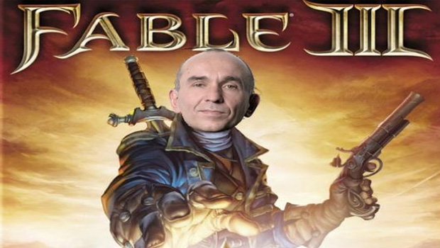 Performance de Fable III envergonha Peter Molyneux (Foto: Divulgação)