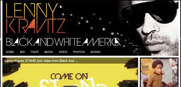 Lenny Kravitz (Foto: Reprodução)