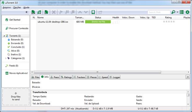 uTorrent (Foto: Reprodução)