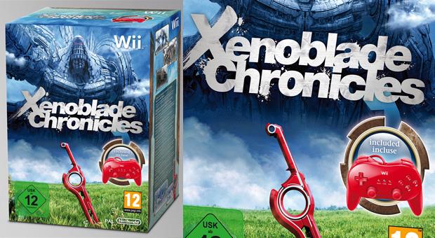 Xenoblade Chronicles ganha edição limitada com Classic Controller vermelho na Europa  (Foto: Divulgação)