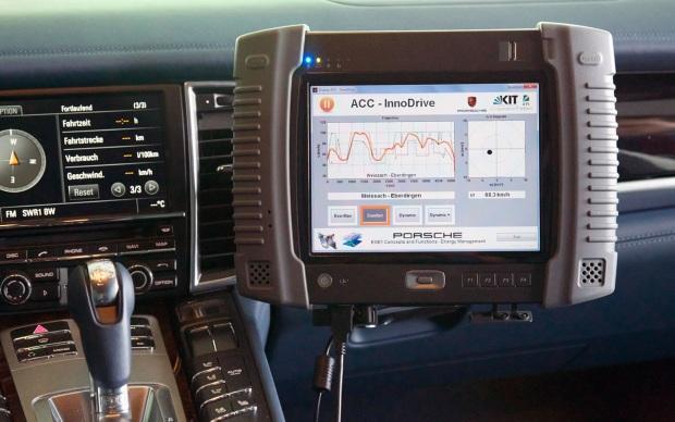 Sistema ACC InnoDrive da Porsche (Foto: Divulgação)