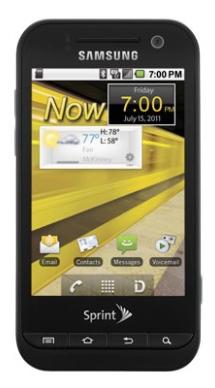 Samsung Conquer 4G (Foto: Divulgação)