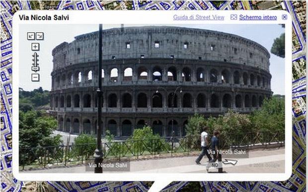 Street View na Itália (Foto: Reprodução)
