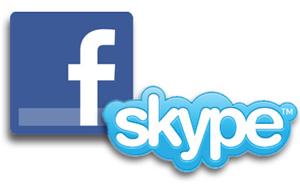 Facebook com Skype (Foto: Mashable)