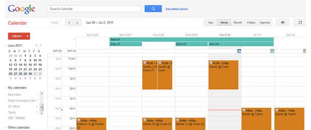 Google Agenda (Foto: Reprodução)