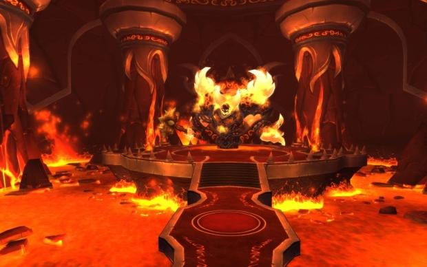 Ragnaros em Firelands (Foto: Divulgação)