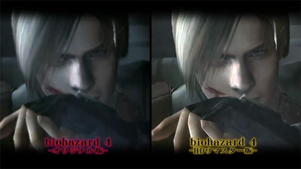 Comparação entre Resident Evil 4 e Resident Evil 4 HD  (Foto: Divulgação)