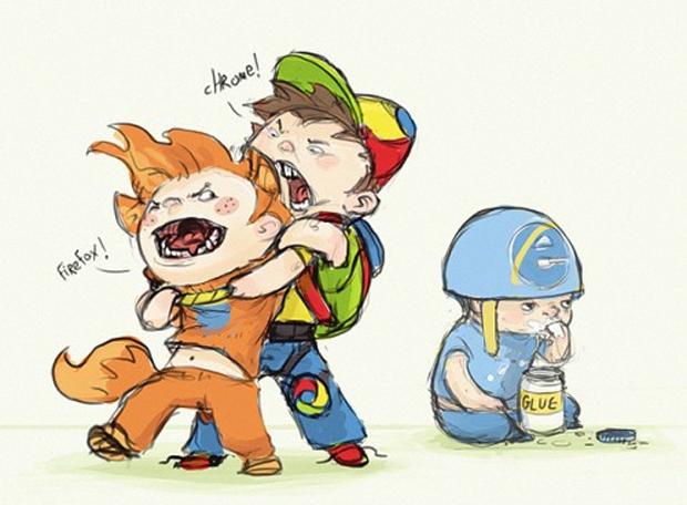 Chrome ou Firefox? (Foto: Reprodução)