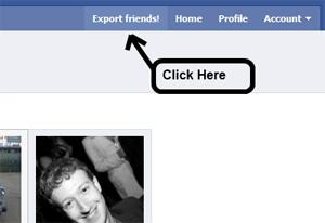 Facebook Friend Exporter (Foto: Divulgação)