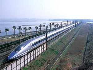 Trem bala japonês (Foto: Divulgação)
