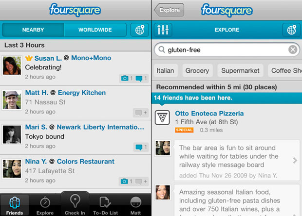 Foursquare (Foto: Divulgação)