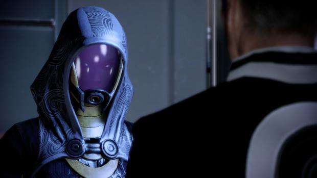 Tali em Mass Effect 3: Como será o seu rosto? (Foto: Divulgação)