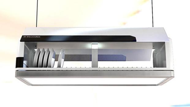 Lava-louças conceito funciona como luminária (Foto: Divulgação)