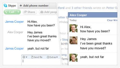 Novo serviço de videochamadas integra usuários e serviços do Skype com o Facebook (Foto: Divulgação)