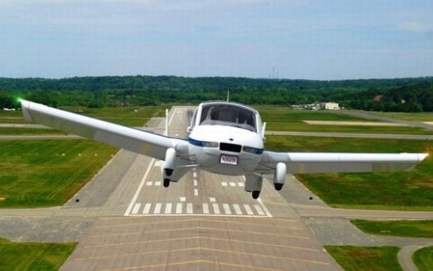 Carro voador (Foto: Divulgação)