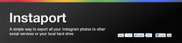 Instaport, salve suas fotos do Instagram (Foto: Reprodução)