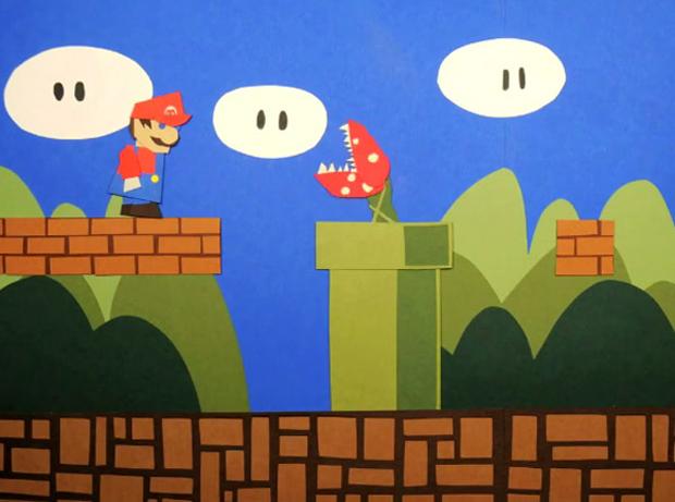 Mario on paper (Foto: Reprodução)