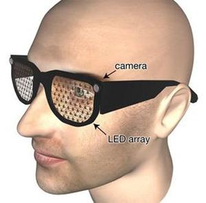 Óculos biônicos (Foto: Reprodução: Physorg)