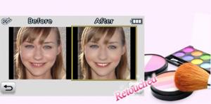 Maquiagem virtual (Foto: Divulgação)